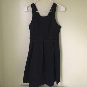 Express black dress.